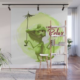 I guana relax Wall Mural