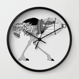 Cowardice Wall Clock