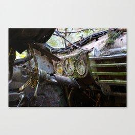 Broken Dash Canvas Print