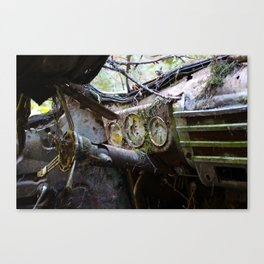 Broken Dash Canvas Print