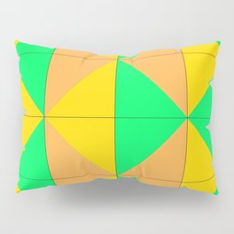 Harlequin bulge Pillow Sham