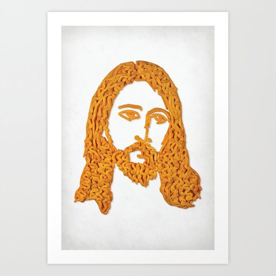 Cheesus Art Print
