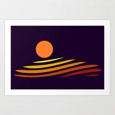 Miramare Art Print