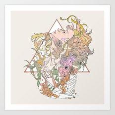 I N K Art Print