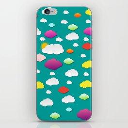 Rainbow Cloud iPhone Skin