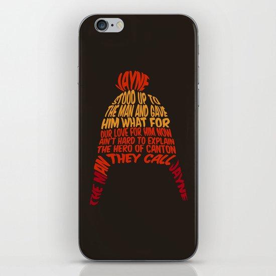 Jayne Hat iPhone & iPod Skin