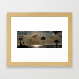 Jekyll Late Sunrise Framed Art Print