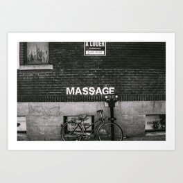 Massage Wall Art Print
