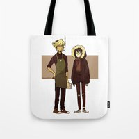durarara Tote Bags featuring Kids These Days by rhymewithrachel