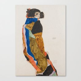 Egon Schiele Moa Canvas Print