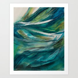 Obedient Wind and Waves Art Print