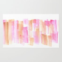 [161228] 4. Abstract Watercolour Color Study |Watercolor Brush Stroke Rug
