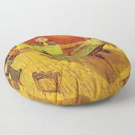 THE NIGHT CAFE - VINCENT VAN GOGH Floor Pillow
