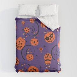 Halloween Magic- Purple Duvet Cover