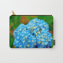 Brilliant blue hydrangea Carry-All Pouch