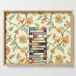VHS & Entry Hall Wallpaper Serving Tray