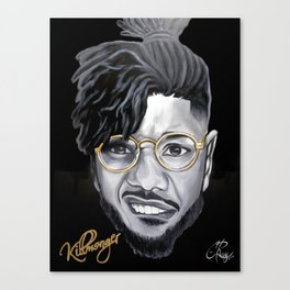 Killmonger Canvas Print