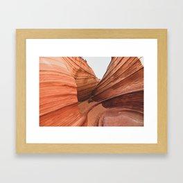 The Wave Enclave ll Framed Art Print