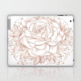 Mandala Lunar Rose Gold Laptop & iPad Skin