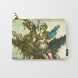 """Gustave Moreau """"Dream of the Orient or The Peri"""" Carry-All Pouch"""