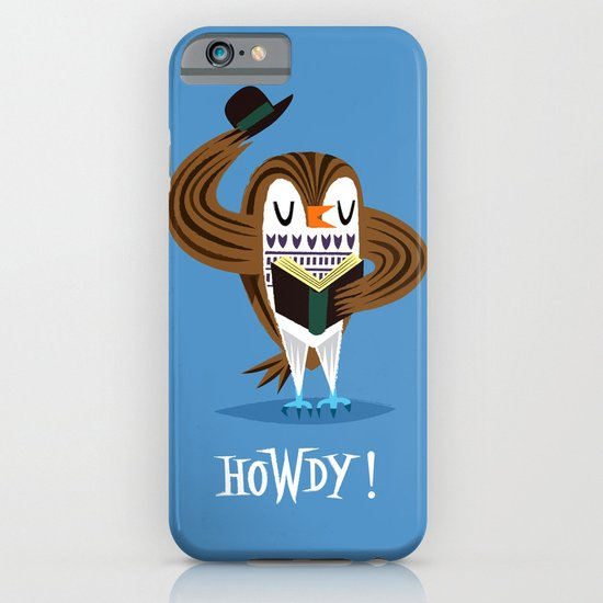 The Howdy Owl iPhone & iPod Case