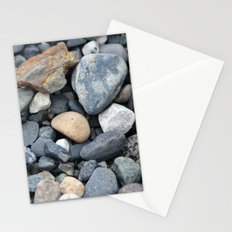 Rocks Pebbles Stones :: Alaskan Sand Stationery Cards