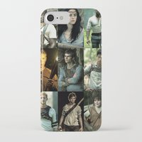maze runner iPhone & iPod Cases featuring The Maze Runner Character's by TK Studios