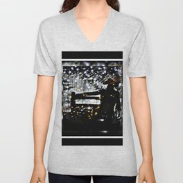 Starry Sky For The Cowboy In Montana Unisex V-Neck