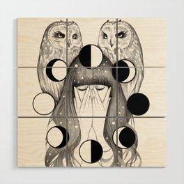 Moon Spells Wood Wall Art