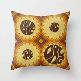 LOVE IS THE DRUG Throw Pillow