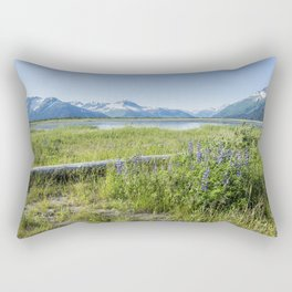 Along the Seward Highway, No. 2 Rectangular Pillow