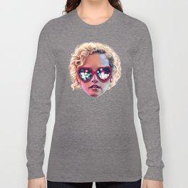 Electrick Girl Long Sleeve T-shirt