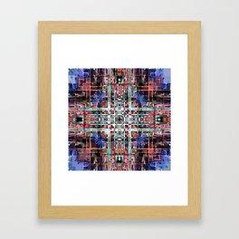 Inner Structure of Space Framed Art Print