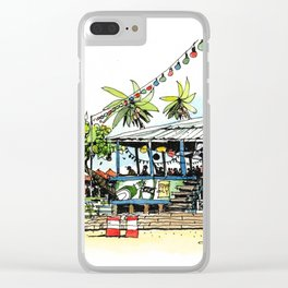 Calico Jack's, Grand Cayman (no notes) Clear iPhone Case