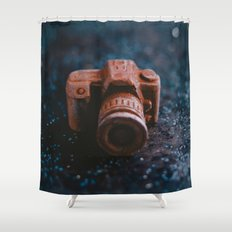 Sweet camera. Shower Curtain