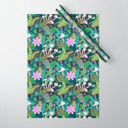 Beetle Pattern Wrapping Paper