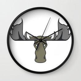 Moose Art MOOSE Wall Clock