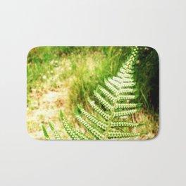 Green Fern Bath Mat