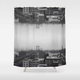 Collapse Shower Curtain