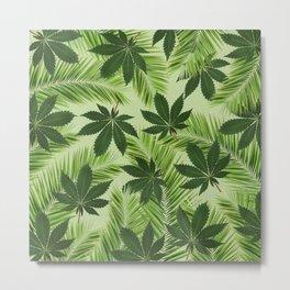 Tropical High Metal Print
