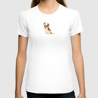 jack russell T-shirts featuring Jack Russell Terrier by 52 Dogs
