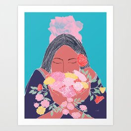 Appreciating the Small Things in Life Art Print