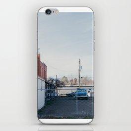Fenced Lot - Glenns Ferry, ID iPhone Skin