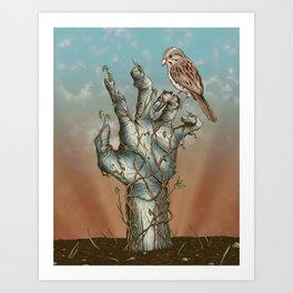 Dawn of the Living Art Print