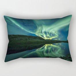 Amazing night Rectangular Pillow