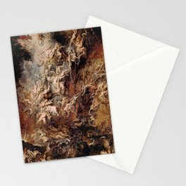 Peter Paul Rubens's The Fall of the Damned Stationery Cards
