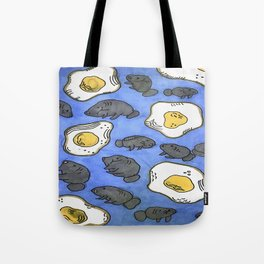mantee eggs Tote Bag