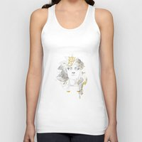 the legend of korra Tank Tops featuring Korra II by lavaniteuse