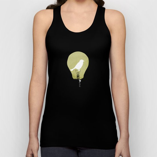 ideas take flight Unisex Tank Top