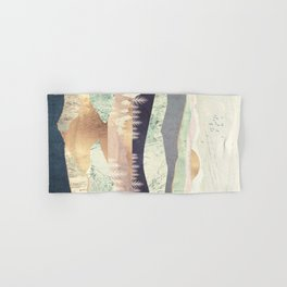 Golden Spring Reflection Hand & Bath Towel